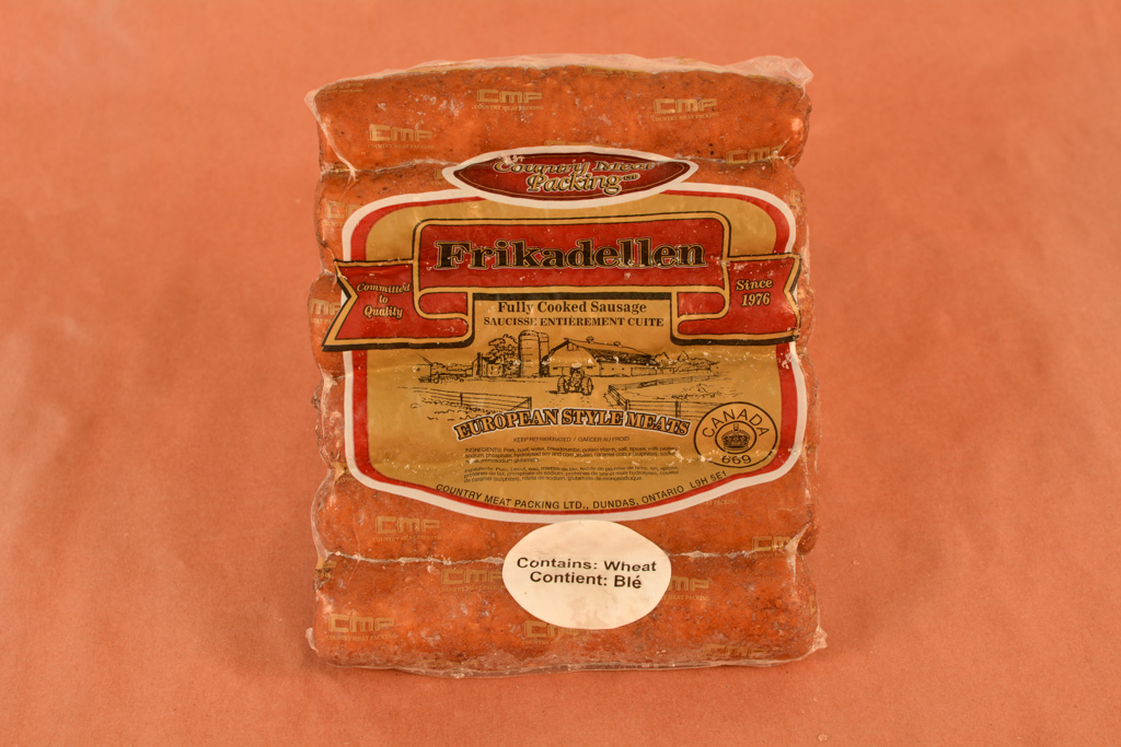 Frikadellen fully cooked sausage
